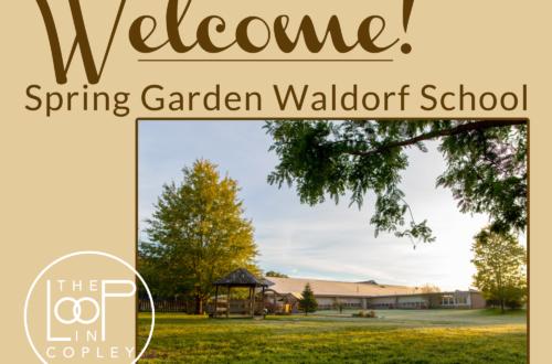Welcome, Spring Garden Waldorf School!