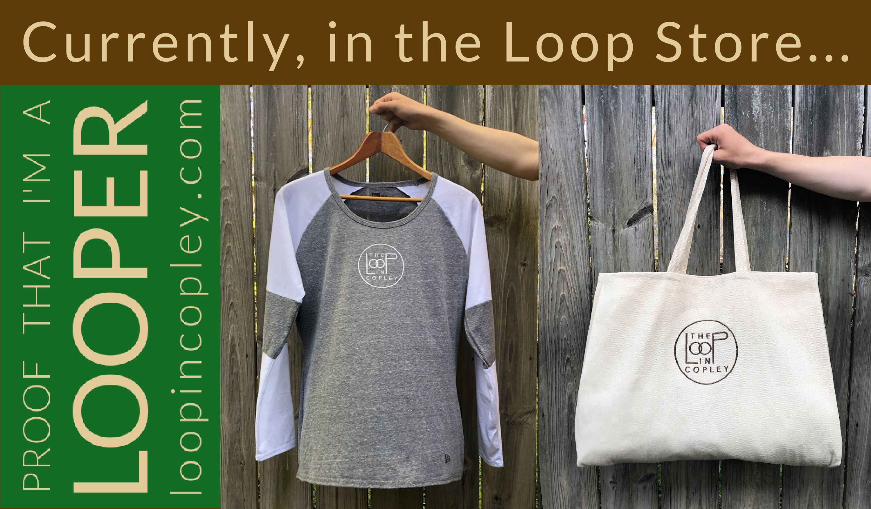 Currently in the Loop Store